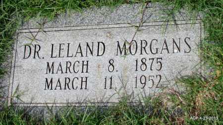 MORGANS, LELAND, DR - Arkansas County, Arkansas   LELAND, DR MORGANS - Arkansas Gravestone Photos