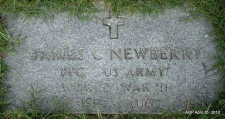 NEWBERRY (VETERAN WWII), JAMES C - Arkansas County, Arkansas | JAMES C NEWBERRY (VETERAN WWII) - Arkansas Gravestone Photos