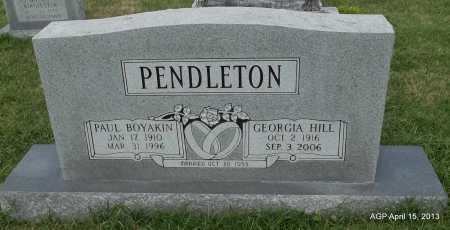 PENDLETON, PAUL BOYAKIN - Arkansas County, Arkansas | PAUL BOYAKIN PENDLETON - Arkansas Gravestone Photos