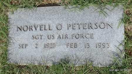 PETERSON (VETERAN), NORVELL O - Arkansas County, Arkansas | NORVELL O PETERSON (VETERAN) - Arkansas Gravestone Photos