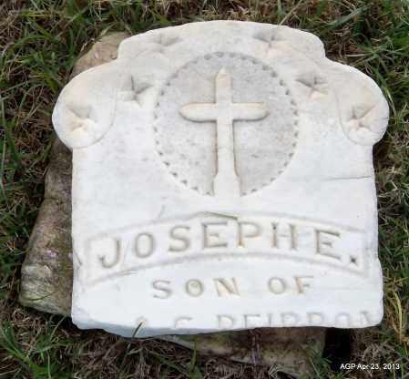PIERRON, JOSEPH E - Arkansas County, Arkansas | JOSEPH E PIERRON - Arkansas Gravestone Photos