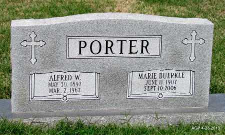 PORTER, MARIE - Arkansas County, Arkansas | MARIE PORTER - Arkansas Gravestone Photos