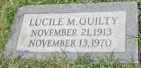 QUILTY, LUCILE M - Arkansas County, Arkansas | LUCILE M QUILTY - Arkansas Gravestone Photos