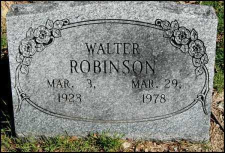 ROBINSON, WALTER - Arkansas County, Arkansas   WALTER ROBINSON - Arkansas Gravestone Photos