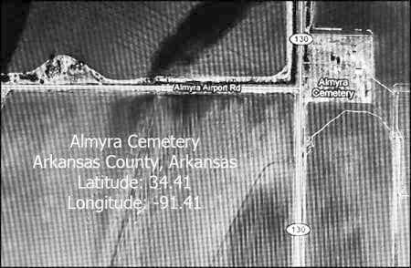 *SATELLITE IMAGE,  - Arkansas County, Arkansas |  *SATELLITE IMAGE - Arkansas Gravestone Photos