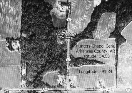 *SATELLITE IMAGE,  - Arkansas County, Arkansas |  *SATELLITE IMAGE - Arkansas Gravestone Photos