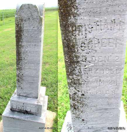 SCHEEF, CHRISTIAN F - Arkansas County, Arkansas   CHRISTIAN F SCHEEF - Arkansas Gravestone Photos