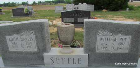 SETTLE, EDITH - Arkansas County, Arkansas | EDITH SETTLE - Arkansas Gravestone Photos