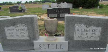 SETTLE, WILLIAM ROY - Arkansas County, Arkansas | WILLIAM ROY SETTLE - Arkansas Gravestone Photos