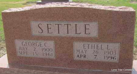 SETTLE, ETHEL L - Arkansas County, Arkansas | ETHEL L SETTLE - Arkansas Gravestone Photos