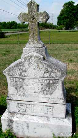 SHEAR, CAROLINE M - Arkansas County, Arkansas | CAROLINE M SHEAR - Arkansas Gravestone Photos