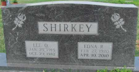 SHIRKEY, EDNA R - Arkansas County, Arkansas | EDNA R SHIRKEY - Arkansas Gravestone Photos