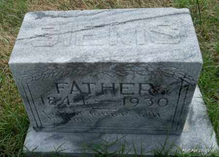 SIEMS, FATHER - Arkansas County, Arkansas | FATHER SIEMS - Arkansas Gravestone Photos
