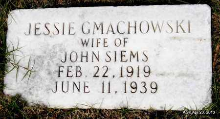 GMACHOWSKI SIEMS, JESSIE - Arkansas County, Arkansas | JESSIE GMACHOWSKI SIEMS - Arkansas Gravestone Photos