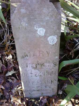 SIMPKINS, MARY - Arkansas County, Arkansas | MARY SIMPKINS - Arkansas Gravestone Photos