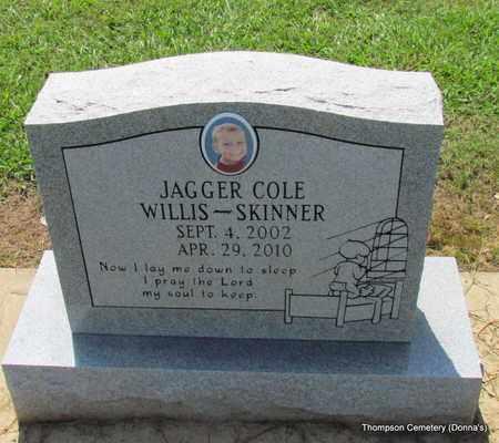 SKINNER, JAGGER COLE WILLIS - Arkansas County, Arkansas   JAGGER COLE WILLIS SKINNER - Arkansas Gravestone Photos