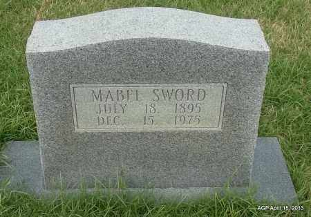 SWORD, MABEL - Arkansas County, Arkansas | MABEL SWORD - Arkansas Gravestone Photos