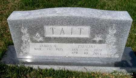 TAIT, PAULINE - Arkansas County, Arkansas   PAULINE TAIT - Arkansas Gravestone Photos