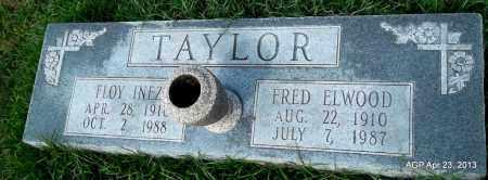 TAYLOR, FLOY INEZ - Arkansas County, Arkansas | FLOY INEZ TAYLOR - Arkansas Gravestone Photos