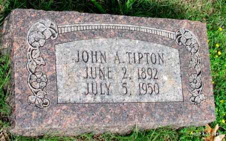 TIPTON, JOHN A - Arkansas County, Arkansas | JOHN A TIPTON - Arkansas Gravestone Photos