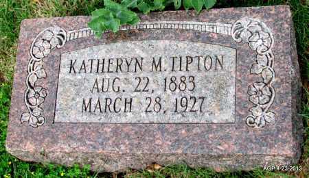 TIPTON, KATHERYN - Arkansas County, Arkansas | KATHERYN TIPTON - Arkansas Gravestone Photos