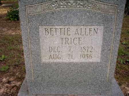 TRICE, BETTIE - Arkansas County, Arkansas | BETTIE TRICE - Arkansas Gravestone Photos