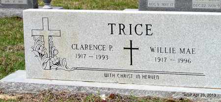 TRICE, WILLIE MAE - Arkansas County, Arkansas | WILLIE MAE TRICE - Arkansas Gravestone Photos
