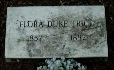 TRICE, FLORA - Arkansas County, Arkansas | FLORA TRICE - Arkansas Gravestone Photos