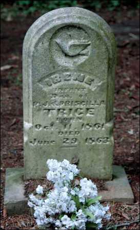 TRICE, IRENE - Arkansas County, Arkansas   IRENE TRICE - Arkansas Gravestone Photos