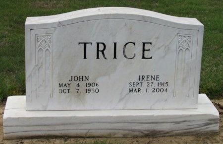 TRICE, IRENE - Arkansas County, Arkansas | IRENE TRICE - Arkansas Gravestone Photos