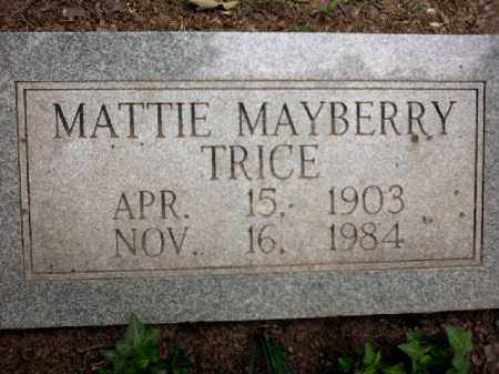 TRICE, MATTIE - Arkansas County, Arkansas | MATTIE TRICE - Arkansas Gravestone Photos