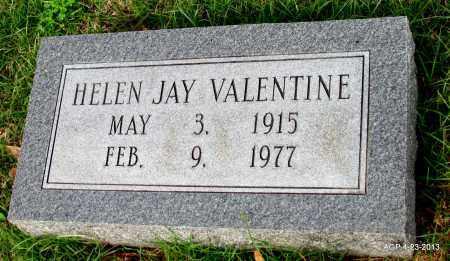 VALENTINE, HELEN JAY - Arkansas County, Arkansas   HELEN JAY VALENTINE - Arkansas Gravestone Photos