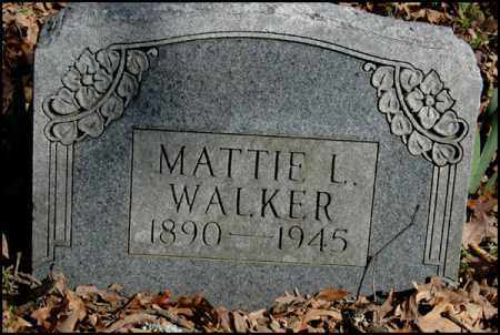 WALKER, MATTIE L. - Arkansas County, Arkansas   MATTIE L. WALKER - Arkansas Gravestone Photos