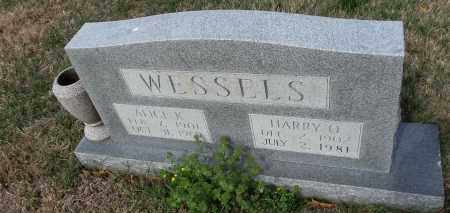 WESSELS, ALICE K - Arkansas County, Arkansas | ALICE K WESSELS - Arkansas Gravestone Photos