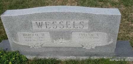 WESSELS, HARPLD M - Arkansas County, Arkansas | HARPLD M WESSELS - Arkansas Gravestone Photos