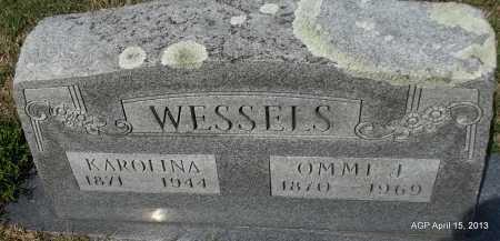 WESSELS, OMME J - Arkansas County, Arkansas | OMME J WESSELS - Arkansas Gravestone Photos
