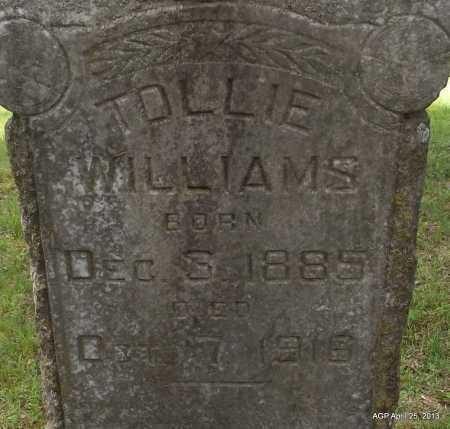 WILLIAMS, TOLLIE - Arkansas County, Arkansas   TOLLIE WILLIAMS - Arkansas Gravestone Photos