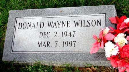 WILSON, DONALD WAYNE - Arkansas County, Arkansas   DONALD WAYNE WILSON - Arkansas Gravestone Photos