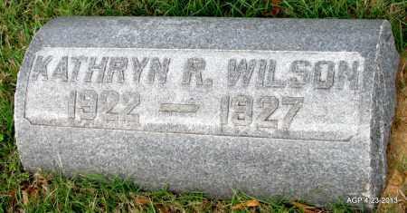 WILSON, KATHRYN R - Arkansas County, Arkansas | KATHRYN R WILSON - Arkansas Gravestone Photos