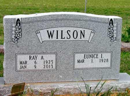 WILSON, RAY A - Arkansas County, Arkansas | RAY A WILSON - Arkansas Gravestone Photos