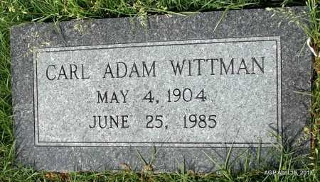 WITTMAN, CLAY ADAM - Arkansas County, Arkansas   CLAY ADAM WITTMAN - Arkansas Gravestone Photos
