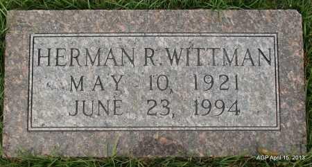WITTMAN, HERMAN - Arkansas County, Arkansas   HERMAN WITTMAN - Arkansas Gravestone Photos