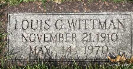 WITTMAN, LOUISE G - Arkansas County, Arkansas | LOUISE G WITTMAN - Arkansas Gravestone Photos