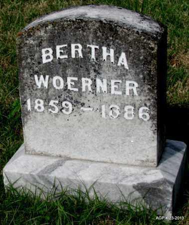 WOERNER, BERTHA - Arkansas County, Arkansas | BERTHA WOERNER - Arkansas Gravestone Photos