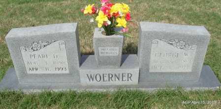 WOERNER, GEORGE W - Arkansas County, Arkansas | GEORGE W WOERNER - Arkansas Gravestone Photos