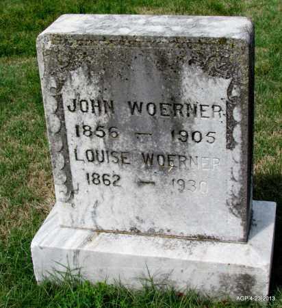 WOERNER, LOUISE - Arkansas County, Arkansas | LOUISE WOERNER - Arkansas Gravestone Photos