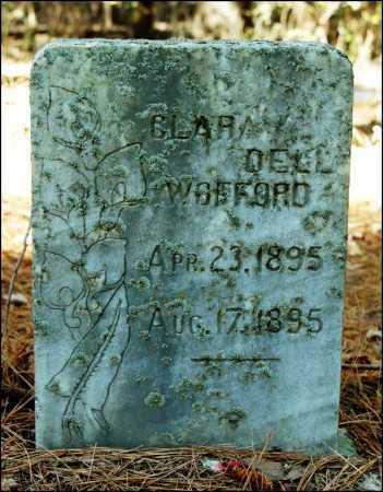 WOFFORD, CLARA DELL - Arkansas County, Arkansas   CLARA DELL WOFFORD - Arkansas Gravestone Photos