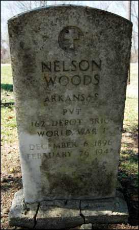 WOODS (VETRERAN WWI), NELSON - Arkansas County, Arkansas | NELSON WOODS (VETRERAN WWI) - Arkansas Gravestone Photos