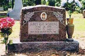 WORRING, JAMES RAY - Arkansas County, Arkansas   JAMES RAY WORRING - Arkansas Gravestone Photos