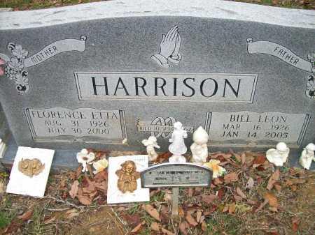 HARRISON, FLORENCE ETTA - Ashley County, Arkansas | FLORENCE ETTA HARRISON - Arkansas Gravestone Photos